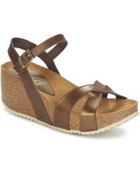 Casual Attitude - Ragdolli Women's Sandals In Brown - Lyst