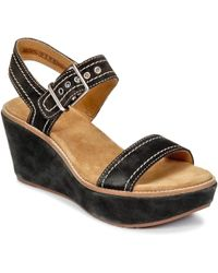 Clarks | Aisley Orchid Sandals | Lyst