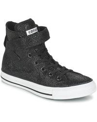 59871d421e78 Converse - Chuck Taylor All Star Brea Cuir Hi Shoes (high-top Trainers)