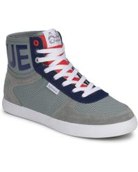Feiyue - A.s High Cuir Synthétique Shoes (high-top Trainers) - Lyst
