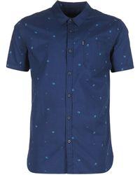 Rip Curl - Disturb Shirt Short Sleeved Shirt - Lyst