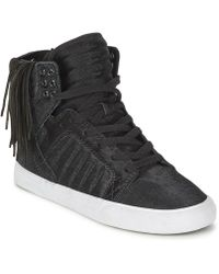 Supra - Skytop Nocturne Shoes (high-top Trainers) - Lyst