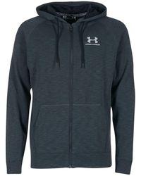 Under Armour - Sportstyle Triblend Fz Hood Sweatshirt - Lyst