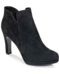 Tamaris Lycoris Women's Low Ankle Boots In Black