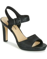 a69569a009e Steven by Steve Madden Gingir Lace Up Sandals Black in Green - Lyst