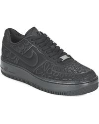 Nike - Air Force 1 Upstep Plush W Shoes (trainers) - Lyst b816ea84d