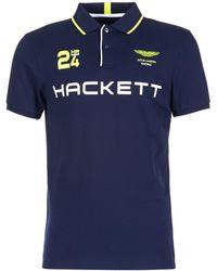 Hackett - Goubanet Men's Polo Shirt In Blue - Lyst