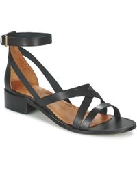 Casual Attitude - Coutil Sandals - Lyst