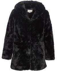 Rene' Derhy - Backgammon Women's Coat In Black - Lyst