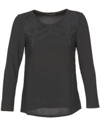 Color Block - Muria Women's Blouse In Black - Lyst