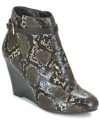 Lotus - Aiken Low Ankle Boots - Lyst