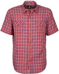 Timberland - Ss Dbl Layer Shirt Short Sleeved Shirt - Lyst
