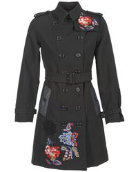 Desigual - Delome Trench Coat - Lyst