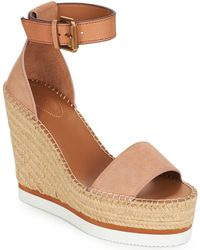 6ee6e00ca4f76c Tory Burch · See By Chloé - Sb26152 Espadrilles   Casual Shoes - Lyst