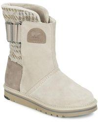 Sorel - The Campus Mid Boots - Lyst