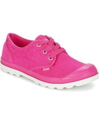 Palladium - Us Oxford Shoes (trainers) - Lyst