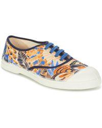 Bensimon - Tennis Pencil Flowers Shoes (trainers) - Lyst