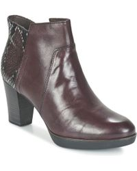 Tamaris - Vicha Low Ankle Boots - Lyst