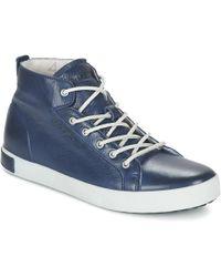 Blackstone - Jm03 Shoes (high-top Trainers) - Lyst