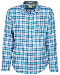 Dockers   The Twill Wrinkle Shirt Long Sleeved Shirt   Lyst