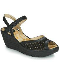 Fly London - Yumo Women's Sandals In Black - Lyst