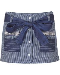 Desigual - Creola Women's Shorts In Blue - Lyst