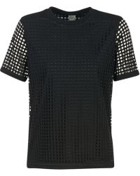 Bench - Double Layer Mesh T T Shirt - Lyst
