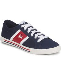 Helly Hansen - Berge Viking Low Round Toe Leather Trainers - Lyst