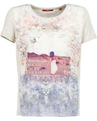S.oliver - Modume T Shirt - Lyst