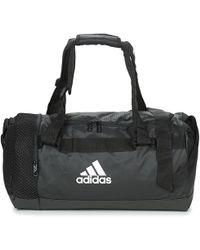 49db27c1ac2f adidas Convertible 3-stripes Duffel Bag Small in Black for Men - Lyst