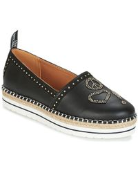 Love Moschino - Ja10093g15 Women's Espadrilles / Casual Shoes In Black - Lyst