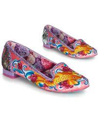 d45cb7a35ece5 Irregular Choice - Pescado Oro Women s Shoes (pumps   Ballerinas) In Pink -  Lyst