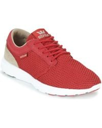 Supra - Hammer Run Men's Shoes (trainers) In Red - Lyst