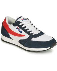 76a1697a0b7f Fila - Orbit JOGGER N Low Men s Shoes (trainers) In Blue - Lyst