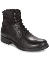 Jack & Jones - Jfw Zachary Mid Boots - Lyst