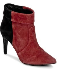 IKKS - Miranda Revers Low Ankle Boots - Lyst