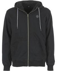 Volcom - Single Stone Lined Zip Men's Sweatshirt In Black - Lyst