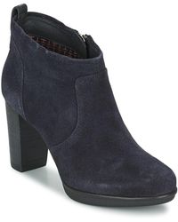 a4e9c2611d52d7 Tommy Hilfiger  s A1285licia 1b Chukka Boots in Blue - Lyst