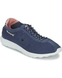 33609092a1b9 Le Coq Sportif - Wendon Levity Woman Flower Jacquard Women s Shoes (trainers)  In Blue
