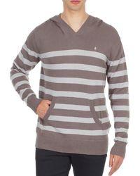 Nixon - Mckoy Jumper Men's Sweatshirt In Brown - Lyst