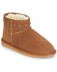 EMU - Stinger Rhinestone Micro Women's Mid Boots In Brown - Lyst
