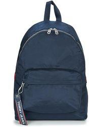 Tommy Hilfiger - Tju Logo Tape Bac... Backpack - Lyst 2fd587577b07d