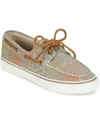 Sperry Top-Sider - Bahama Fish Circle Boat Shoes - Lyst