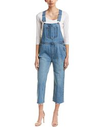 EVIDNT - Light Wash Overall - Lyst