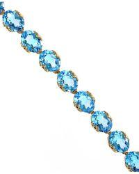Effy - Fine Jewelry 14k 27.85 Ct. Tw. Blue Topaz Necklace - Lyst