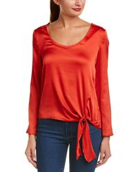 Alythea - Knotted Hem Top - Lyst