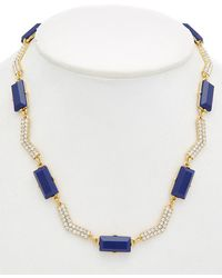Carolee - Miami Mod 12k Plated Collar Necklace - Lyst