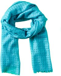 Forte - Check Scarf - Lyst