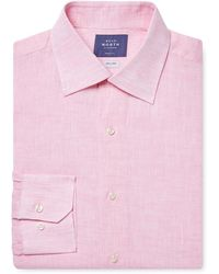 Near North - Cotton Solid Dress Shirt - Lyst