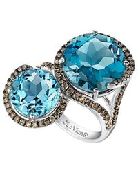 Le Vian - ? Chocolatier? 14k 9.04 Ct. Tw. Diamond & Gemstone Ring - Lyst